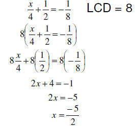 Linear Equations With Fractions - Jennarocca